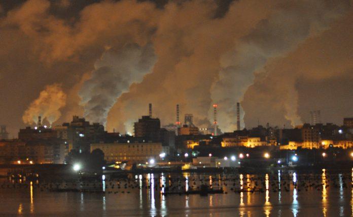 Planta siderúrgica de Tarento, Italia