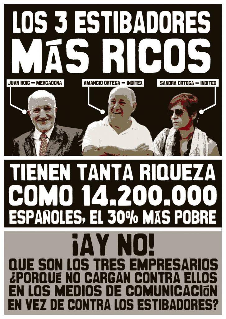 Los estibadores más ricos