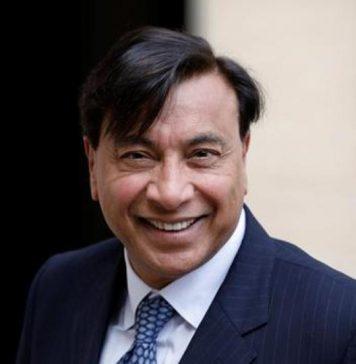 El CEO y accionista principal deArcelorMittal, Lakshmi Mittal.