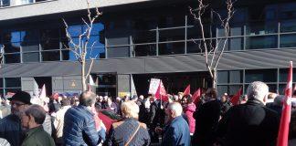 Manifestación de pensionistas en Oviedo el pasado 18 de enero. Foto: La Mayoría