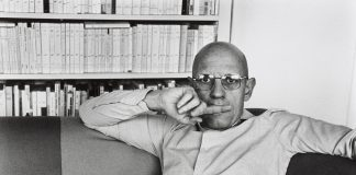 Martine Franck. Michel Foucault. 1978