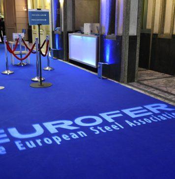 Bruselas, 7 de junio de 2018. Entrada a la reunión del Día Europeo del Acero, organizado por EUROFER. Foto: Fred Guerdin