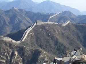 Gran Muralla China, cerca de Pekín, China. 18 de febrero de 2006. Foto: Diego Delso, Wikipedia.