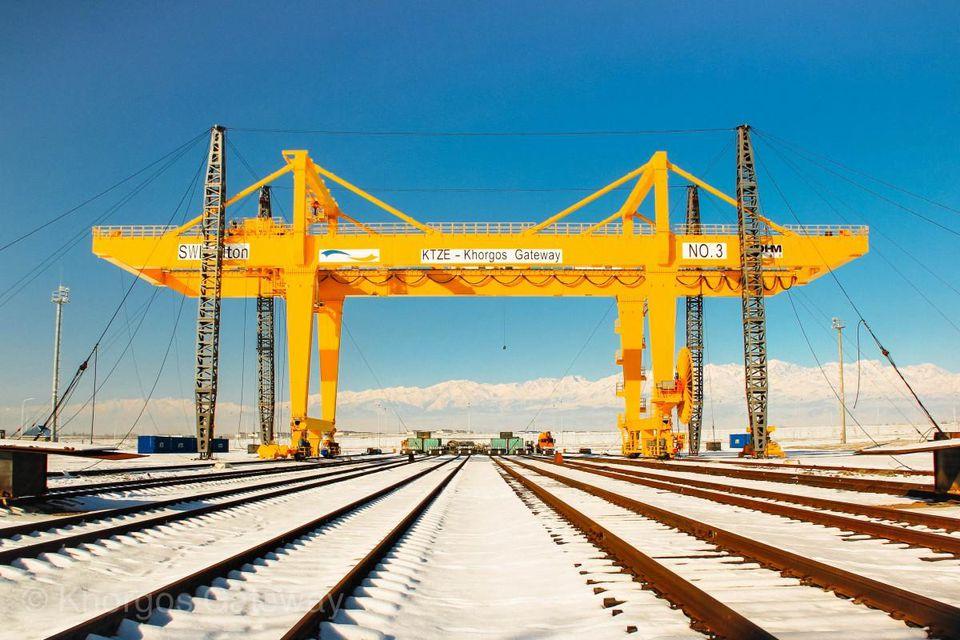 Khorgos Gateway, el puerto seco más grande del mundo. Foto: Khorgos Gateway.