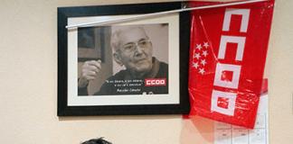 Victor Pascual, Secretario de la Sección Sindical de CCOO de Telefónica en Madrid. Foto: La Mayoría.