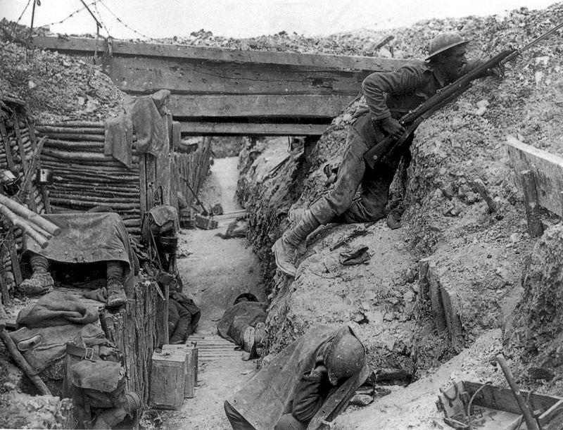 El horror de las trincheras fue el espejo de la industrialización de la guerra.
