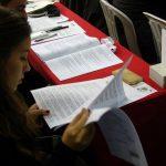 Delegada en el XX Congreso del Partido Comunista Portugués, 2016. Foto: PCP
