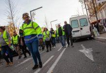 Manifestación de Chalecos Amarillos en Avignon. 1 de diciembre de 2018. Foto: Sébastien Huette. Flickr.
