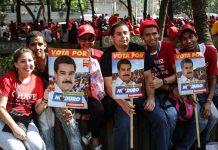 Elecciones del 2013 en Venezuela. Caracas. 11 de abril de 2013. Foto: Joka Madruga / TerraLivrePress.com