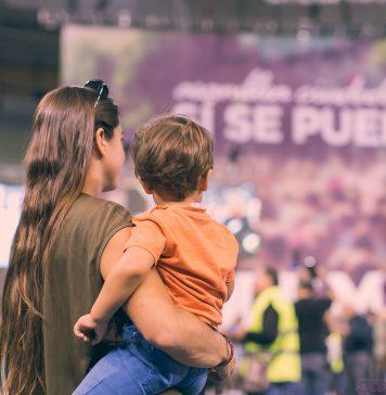 Acto de Podemos en Vistalegre, el 18 de octubre de 2014. Foto: CC BY/NC/SA www.salvadorfornell.com