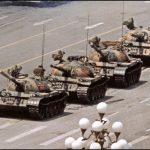 El hombre del tanque de la Plaza Tiananmen